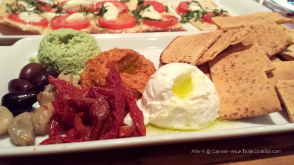Mini Mezze Platter $4 during After 4 @ Carmel happy hour